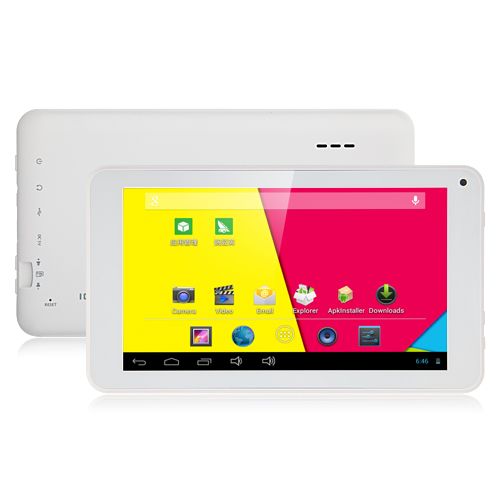 ICOO D70M Tablet PC Dual Core RK3066 7.0 Inch Android 4.2 8GB White