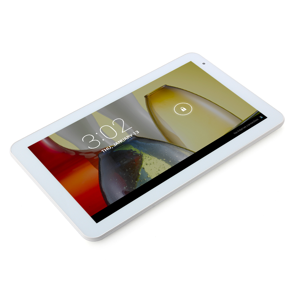 ICOO D10M Tablet PC Dual Core RK3026 10.1 Inch Android 4.2 8GB White