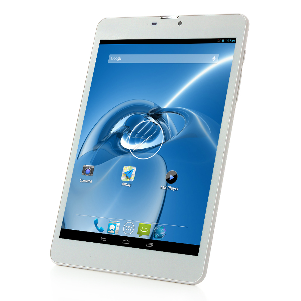 SOSOON X79 Tablet PC MTK8382 Quad Core 7.85 Inch Android 4.2 HD Screen 8GB WCDMA Silver