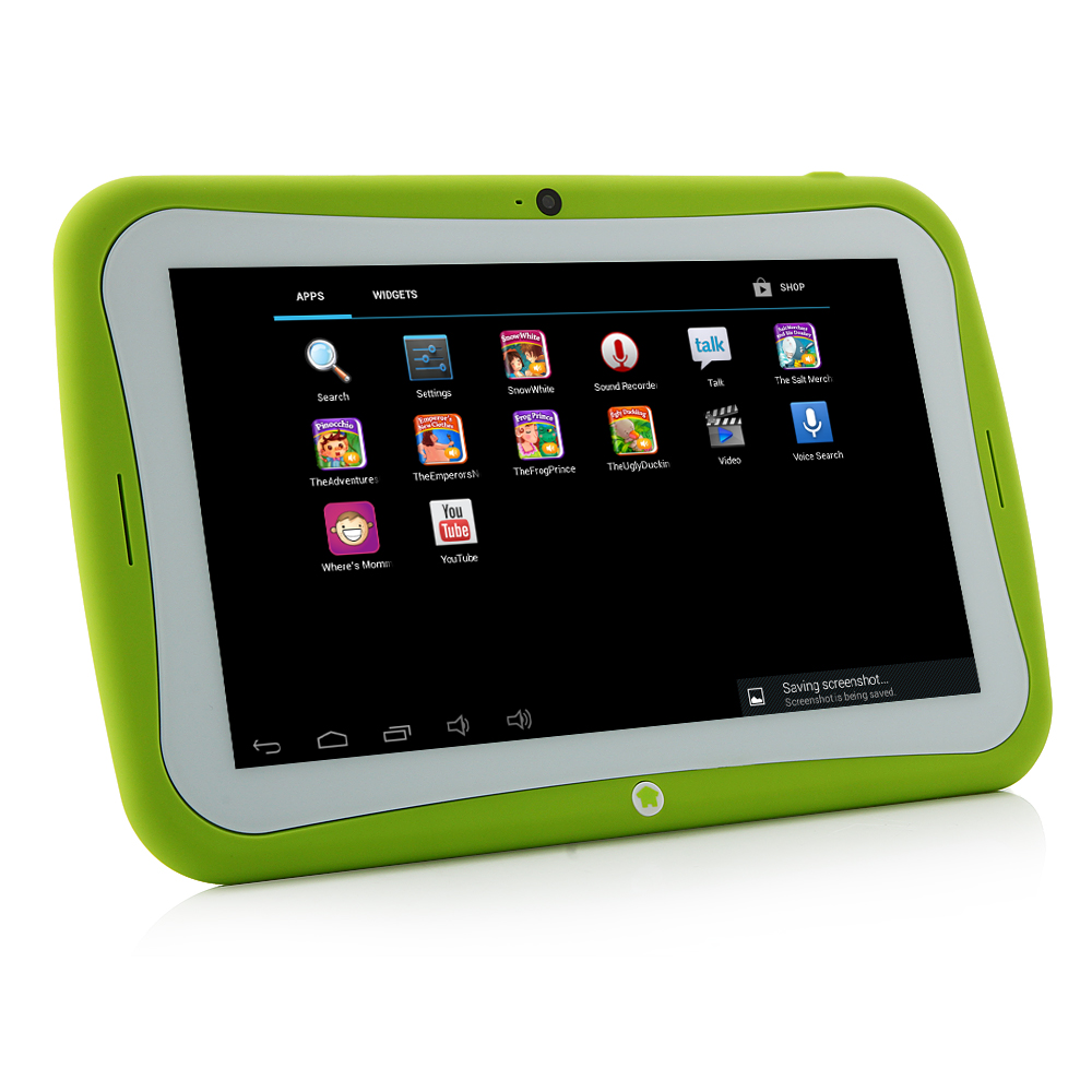 "MTP297 R70AC Kids Tablet PC RK3026 Dual Core 7"" Android 4.2 IPS Screen 8GB Green"