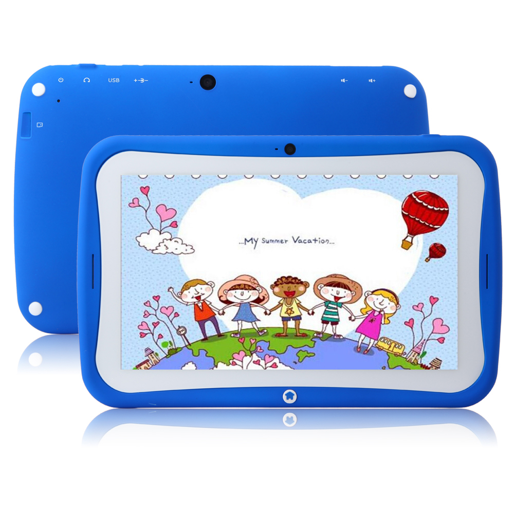 "MTP297 R70AC Kids Tablet PC RK3026 Dual Core 7"" Android 4.2 IPS Screen 8GB Blue"