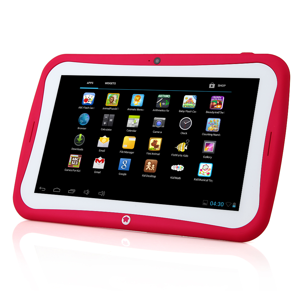 "MTP297 R70AC Kids Tablet PC RK3026 Dual Core 7"" Android 4.2 IPS Screen 8GB Rose"