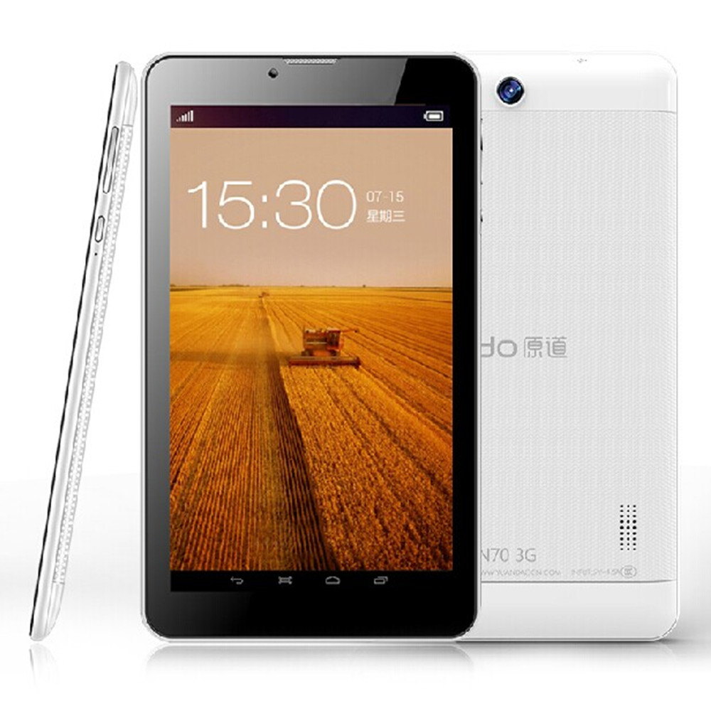 "Vido N70 3G Tablet PC MTK8312 Dual Core 7.0"" Android 4.2 HD Screen 4GB White"