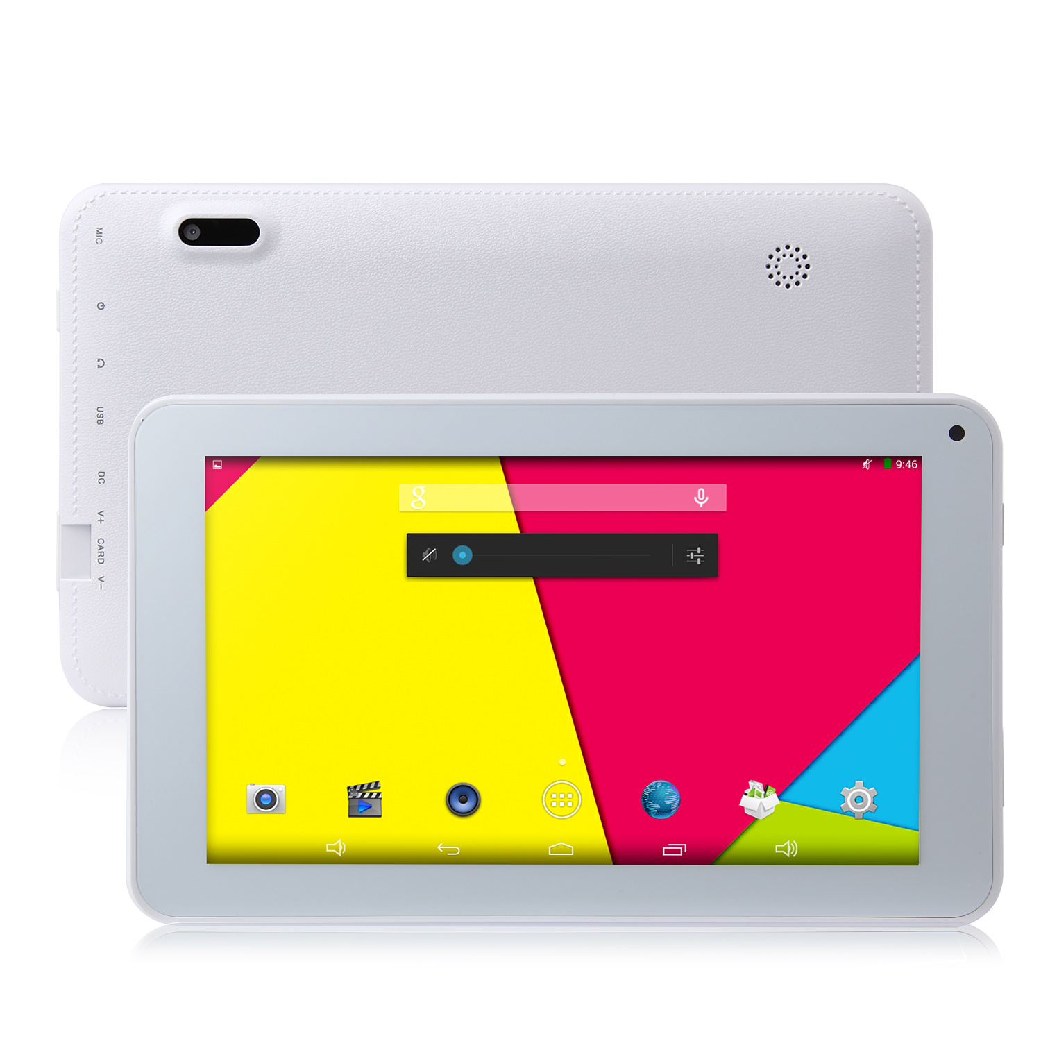 ICOO D70GT Tablet PC Quad Core RK3188 7.0 Inch Android 4.4 IPS Screen 8GB White