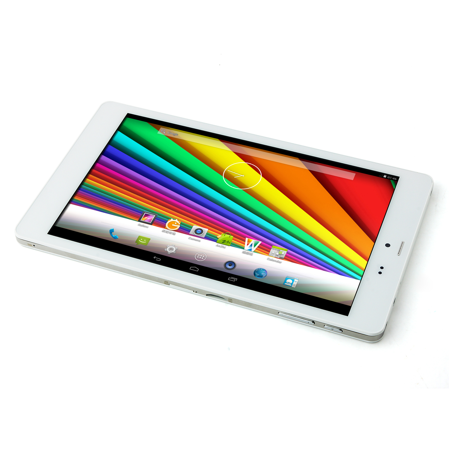 "CHUWI VX8 3G Tablet PC Intel Z3735G Android 4.4 8.0"" IPS Screen 16GB Ultra-Slim White"