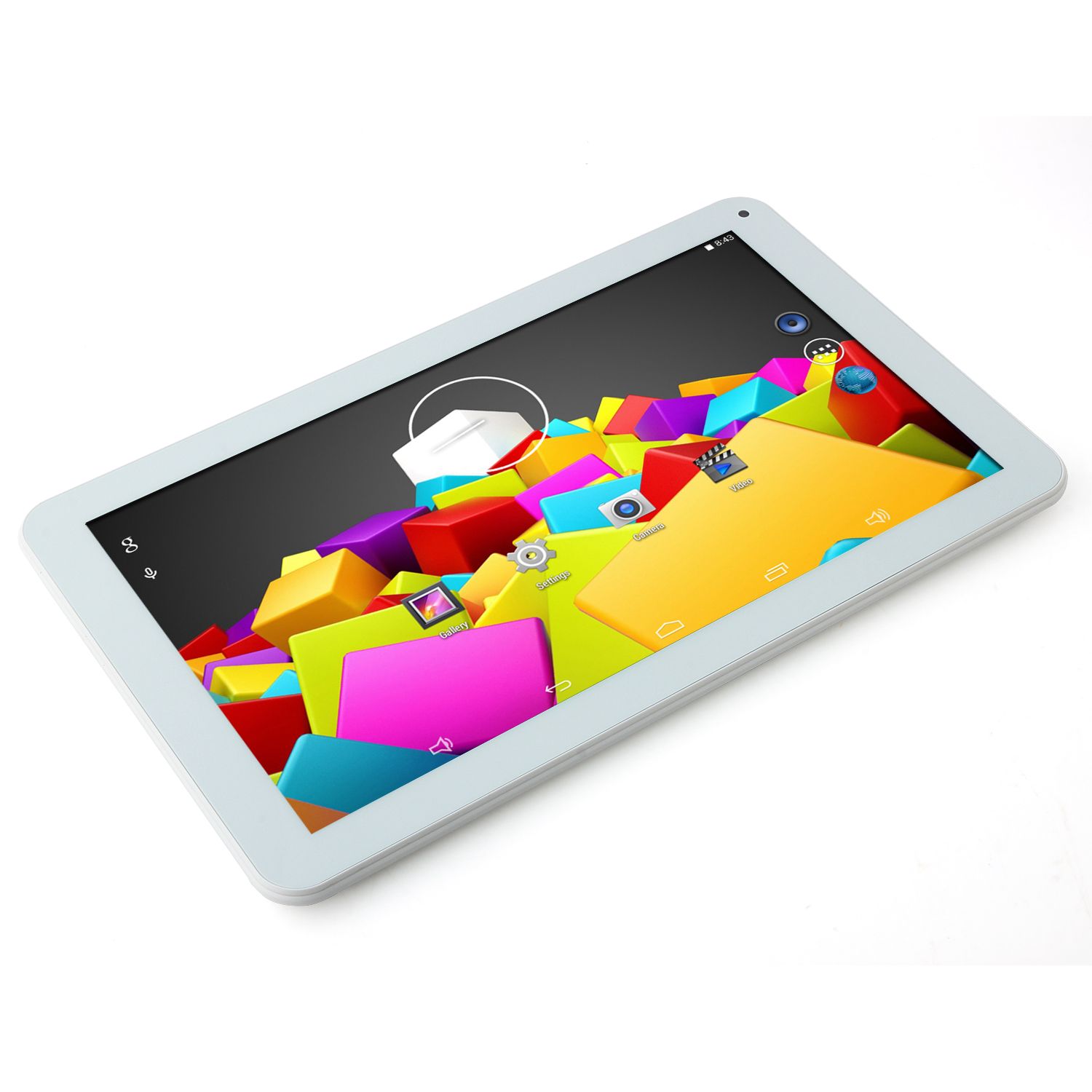 VENSTAR4050 Tablet PC Quad Core RK3188 10.1 Inch Android 4.4 HDMI 8GB Silver