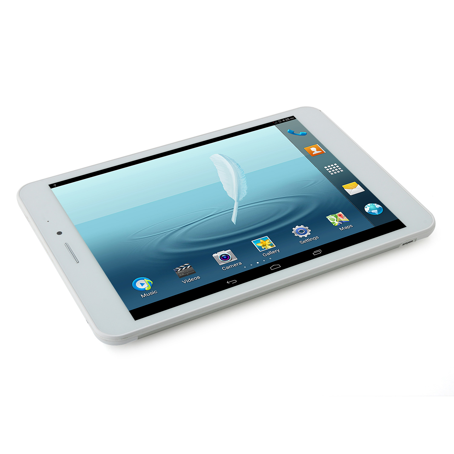 Ampe A83 Tablet PC MTK8382 Quad Core 7.85 Inch Android 4.4 8GB 3G GPS Silver