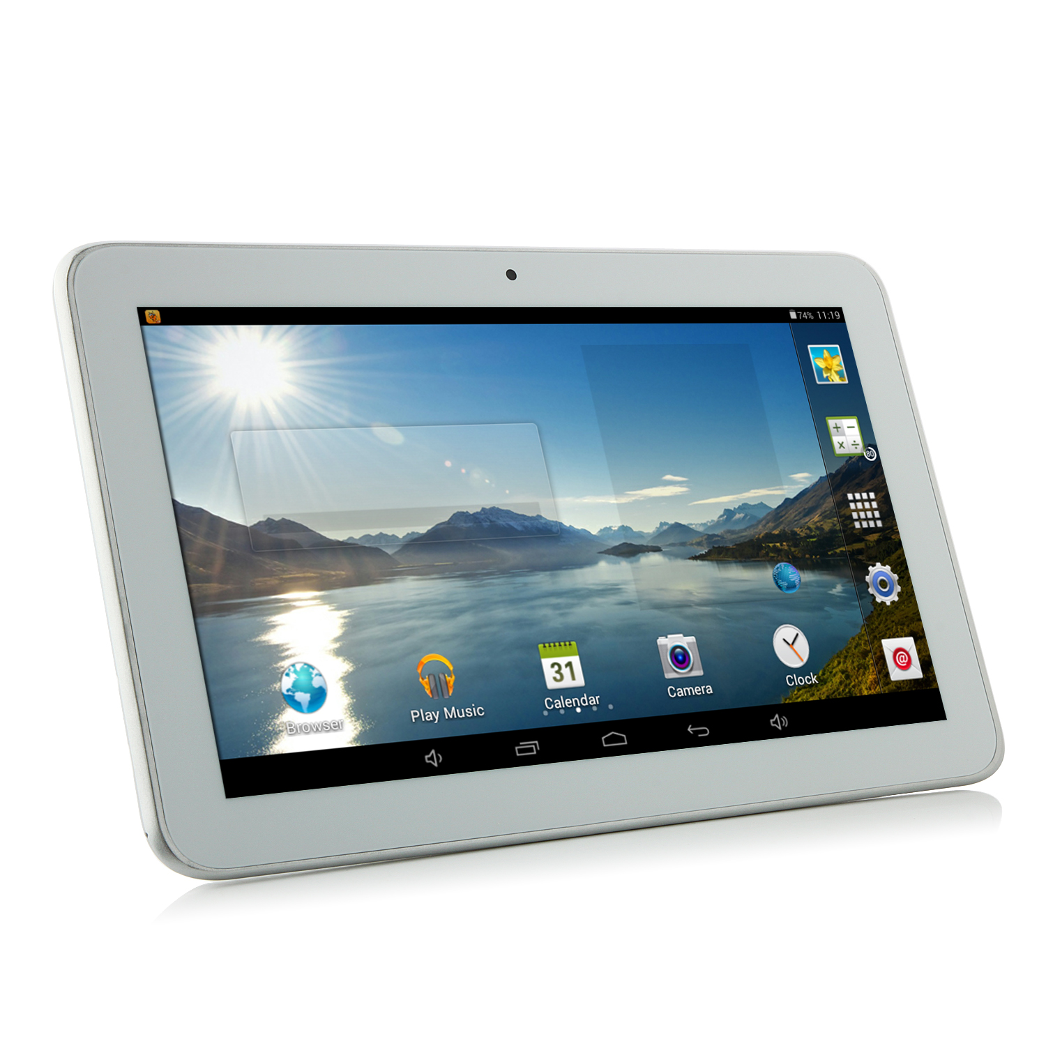 Ampe A92 Tablet PC Allwinner A33 Quad Core 9 Inch Android 4.4 8GB WiFi White
