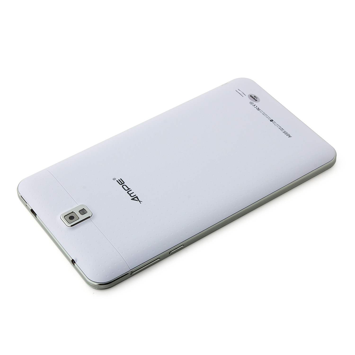 Ampe A695 Tablet PC MTK8382 Quad Core 6.95 Inch Android 4.4 IPS Screen 8GB White