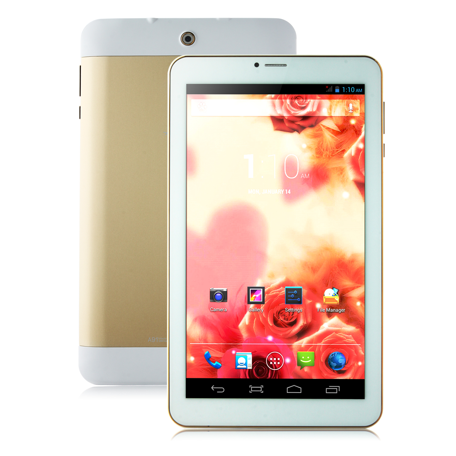 Ampe A91 Tablet PC Dual Core MTK6572W 9.0 Inch Android 4.2 8GB Golden