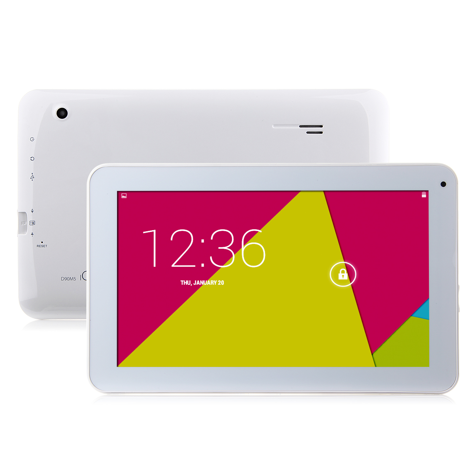 IC00 D90M5 Tablet PC RK3126 Quad Core 9.0 Inch Android 4.4 8GB White