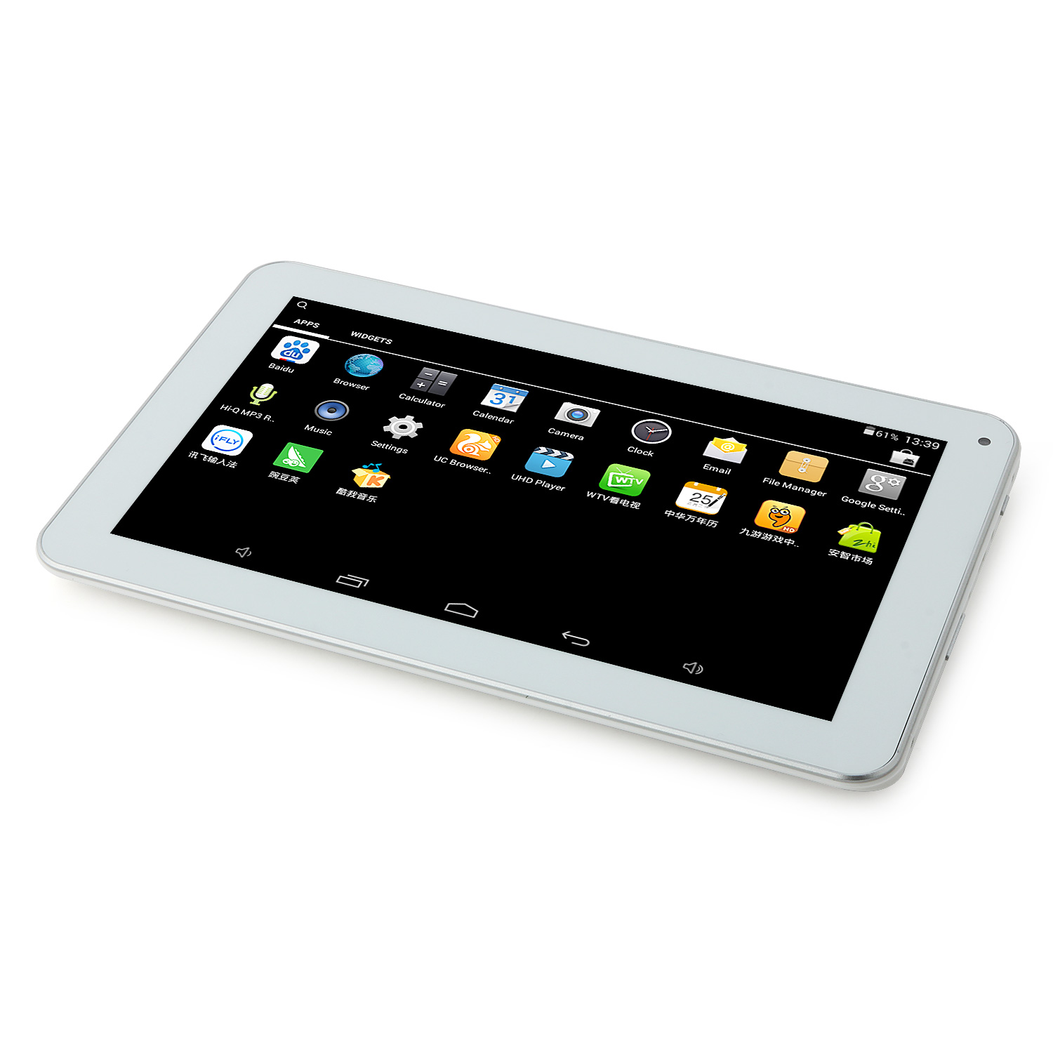 SOSOON X10 Tablet PC Quad Core AllWinner A33 9.0 Inch Android 4.4 8GB White