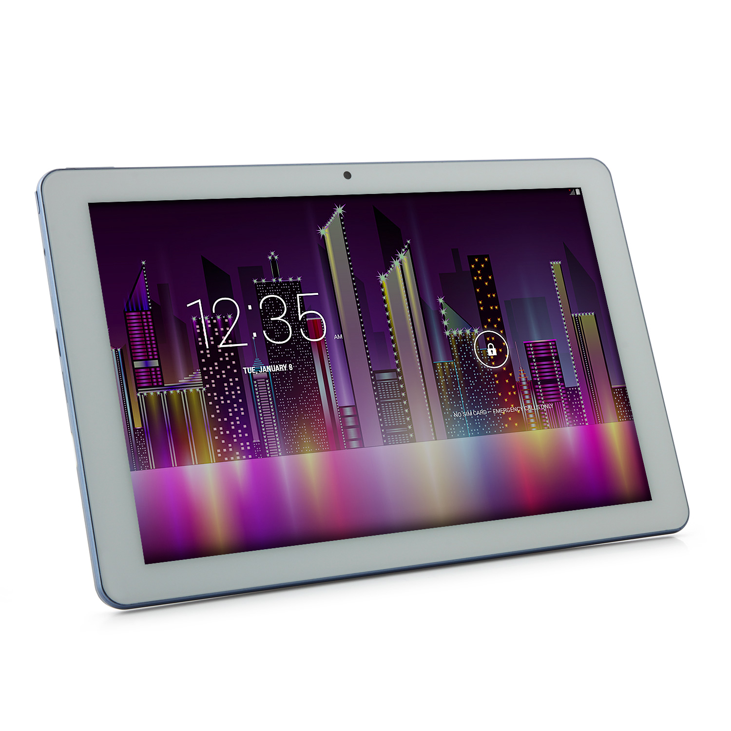 HUU H10 SOUL 3G Tablet PC MTK8382 Quad Core 10.1 Inch Android 4.4 IPS 1GB 16GB White