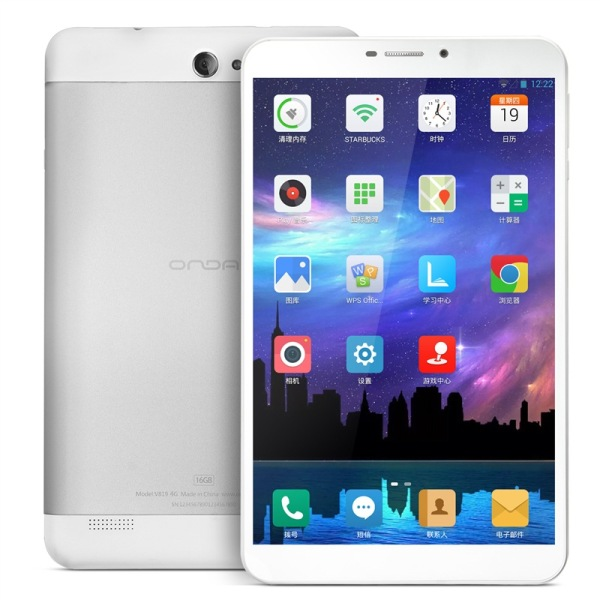 ONDA V819 8 Inch Tablet PC Marvell 1920 Quad Core 1GB 16GB IPS Android 4.3 GPS Silver
