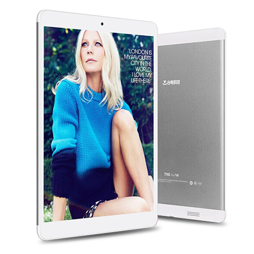 Teclast T98 4G Tablet PC Octa Core MTK8752T 9.7 Inch IPS Retina Android 4.4 32GB Silver