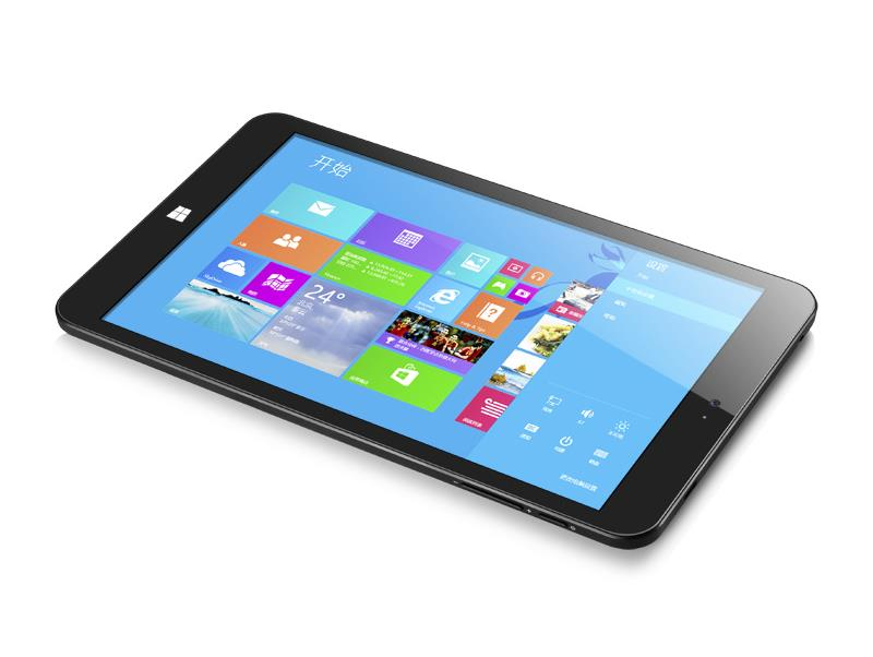 "CHUWI Vi8 Tablet PC Quad Core Intel Z3735F Dual Boot IPS HD 8.0"" 2GB 32GB Black"