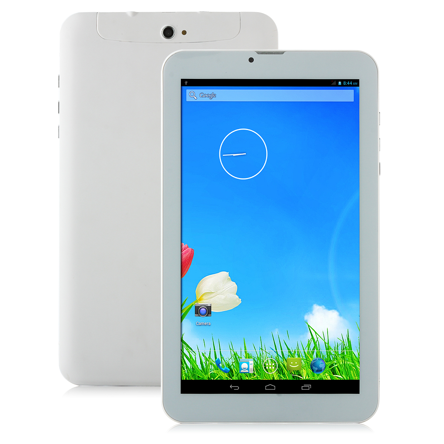 V709 3G Tablet PC MTK6572W Dual Core Android 4.2 9 Inch 1.3MHz White&Golden