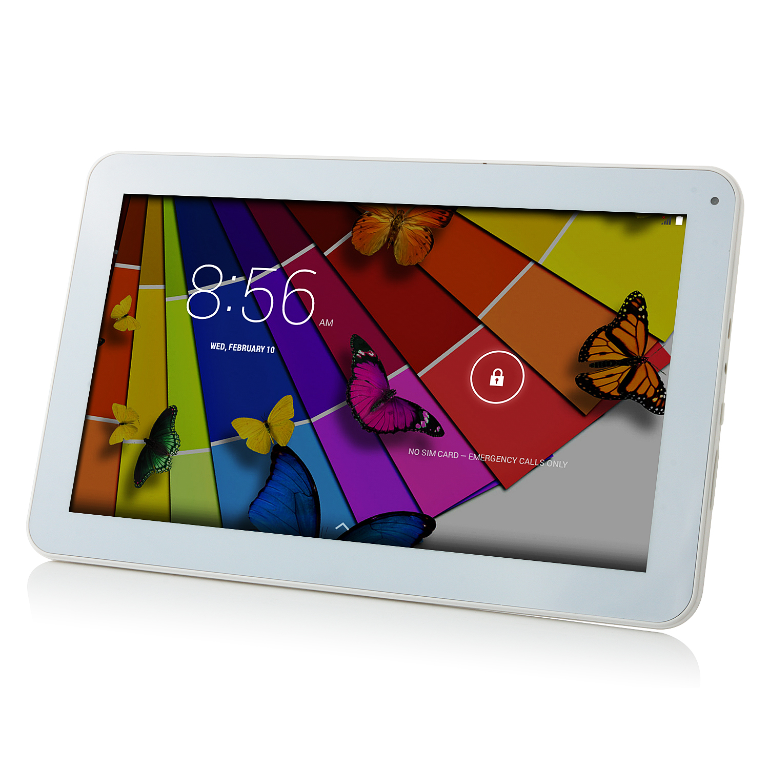 V106 3G Tablet PC MTK8382 Quad Core Android 4.4 10.1 Inch IPS  1GB 8GB White&Golden
