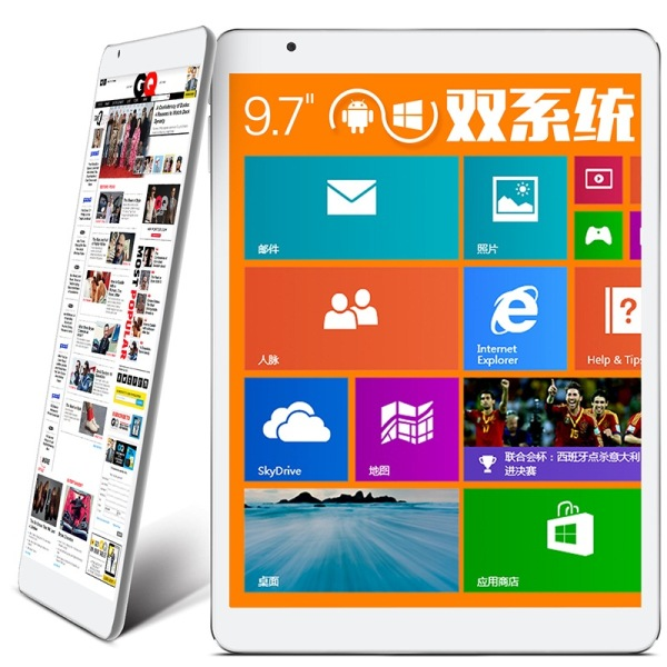 "Teclast X98 Air 3G Tablet PC Dual Boot Intel Z3736F Quad Core 9.7"" Retina 2GB 64GB Grey"