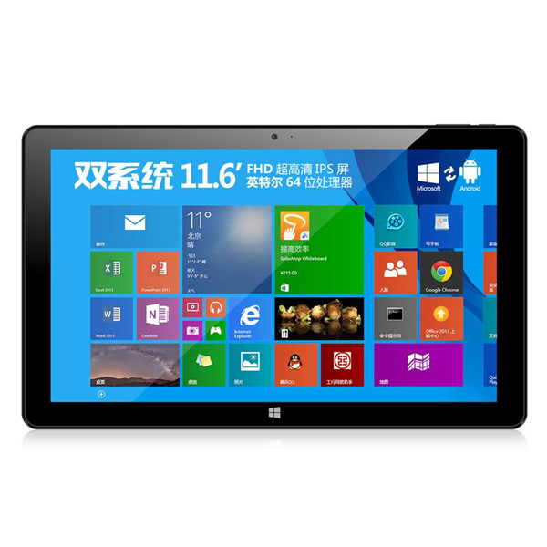 ONDA V116w Tablet PC Dual Boot Intel Z3736F Quad Core 11.6 Inch FHD IPS 2GB 64GB Black