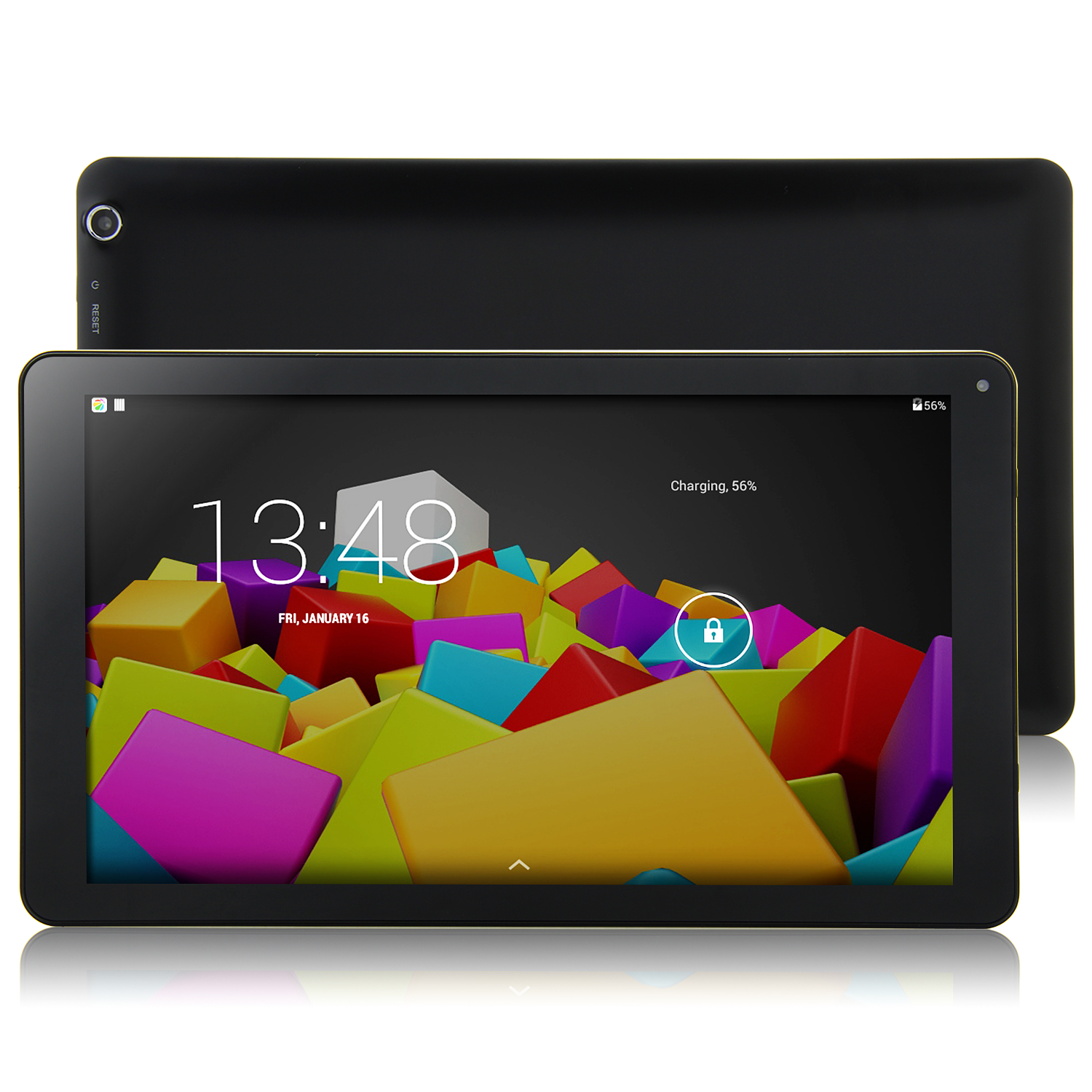 Venstar8050 Tablet PC A83T Octa Core 10.1 Inch Android 4.4 16GB 4K HDMI Black