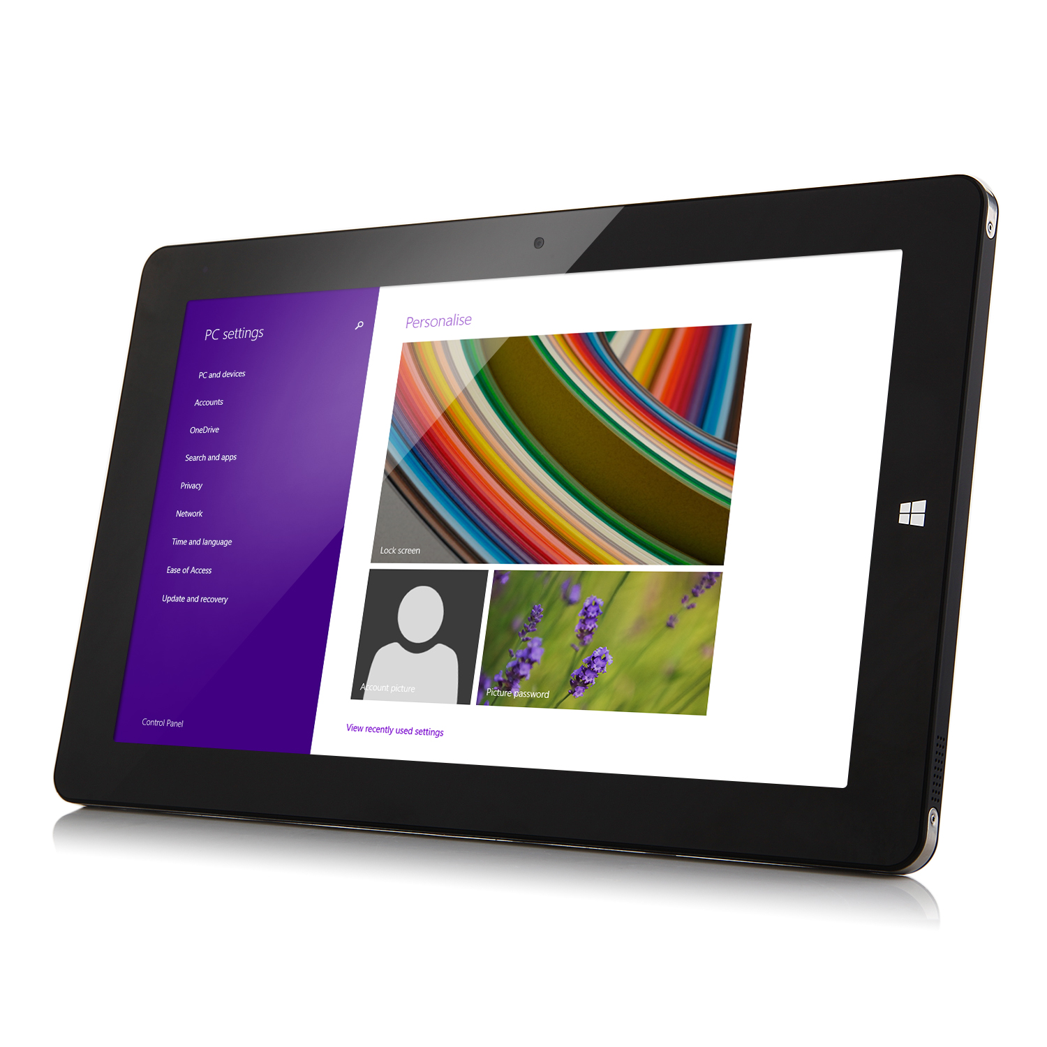 CHUWI Vi10 Tablet PC Dual Boot Intel Z3736F Quad Core 64Bit 10.6Inch IPS 2GB 32GB Black