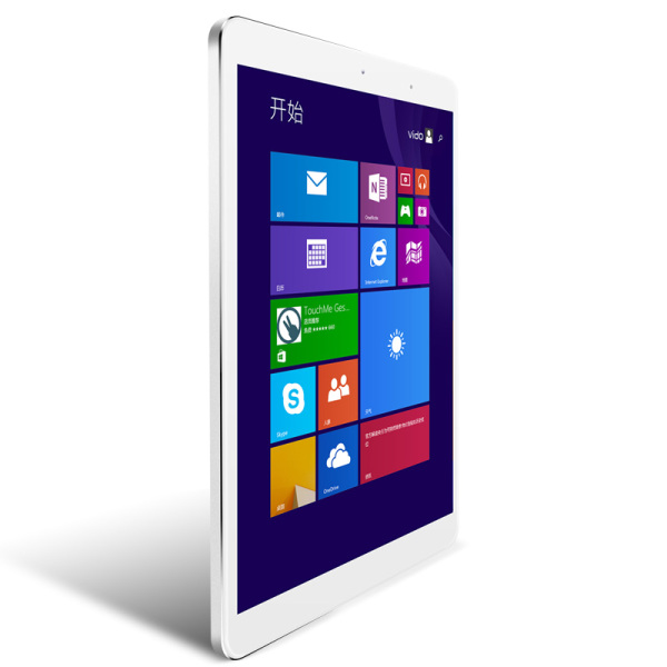 Window M9i WiFi Tablet PC Dual Boot Intel Z3735F 9.7 Inch Ratina Screen 2GB 32GB Silver