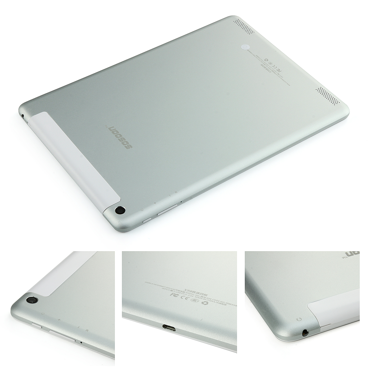 SOSOON X98 3G Tablet PC 9.7 Inch Quad Core MTK8382 Android 4.2 IPS 1GB 16GB Silver