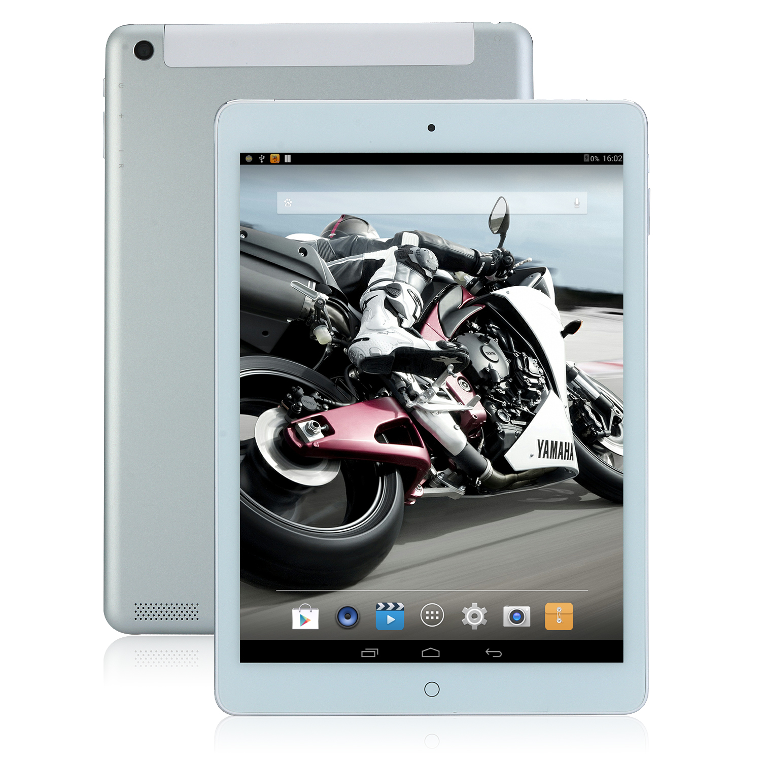 SOSOON X98 WiFi Tablet PC 9.7 Inch Quad Core A33 Android 4.4 IPS 1GB 16GB Silver