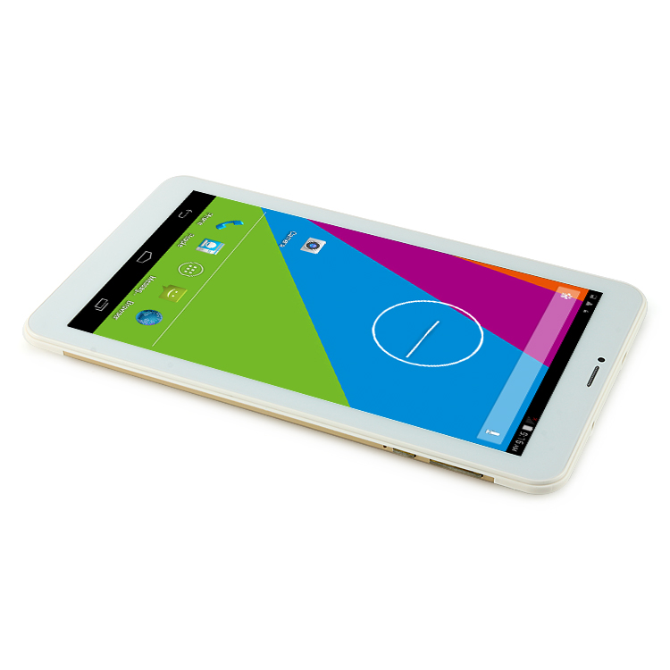 "AMPE A91 2G Phone Tablet PC MTK8312 Dual Core 9"" Android 4.4 GPS 512MB+8GB Gold"