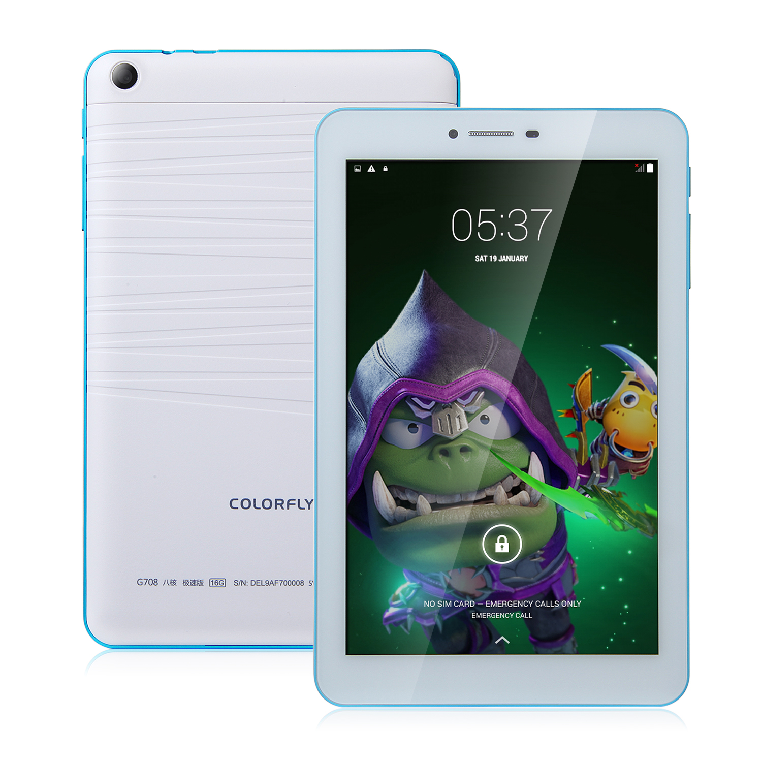 Colorfly G708 3G Tablet PC Octa Core MTK6592 Android 4.4 2GB 16GB IPS 7.0 Inch White