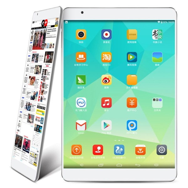 "Teclast X98 Air II Dual Boot Tablet PC 9.7"" IPS Retina Intel Z3736F 2GB 64GB WIDI Grey"