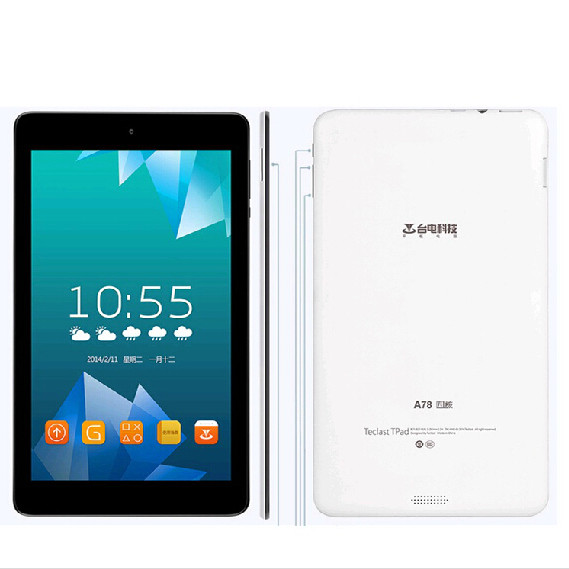 Teclast A78 Tablet PC Allwinner A33 Quad Core 7 inch Android 4.4 8GB eMMC OTG White
