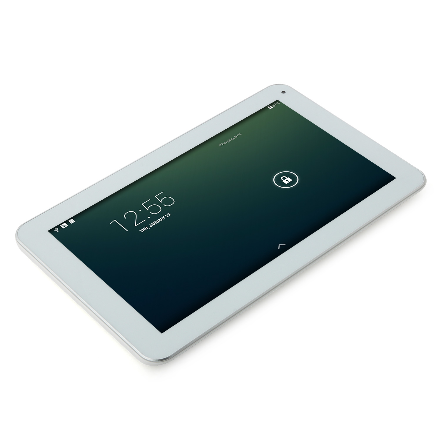 Soulycin S10 Tablet PC AllWinner A33 Quad Core 9.0 Inch Android 4.4 8GB White