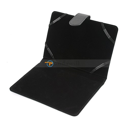 7 inch Leather Case Cover Black for G10 C10 Wopad Cbook Cupid Tablet PC