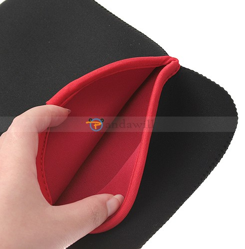 "Protective Double-face Sleeve Bag Pouch for 7"" Tablet PC Black Color"