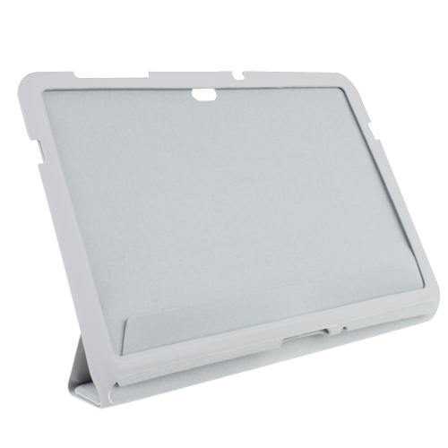 10.1\'\' Smart Cover Protective Leather Case Stand for Samsung Galaxy Tab P7510 Tablet PC -Gray