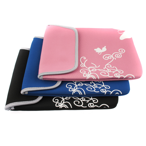 Flower Pattern Soft Protective Pouch Bag for 8'' Tablet PC