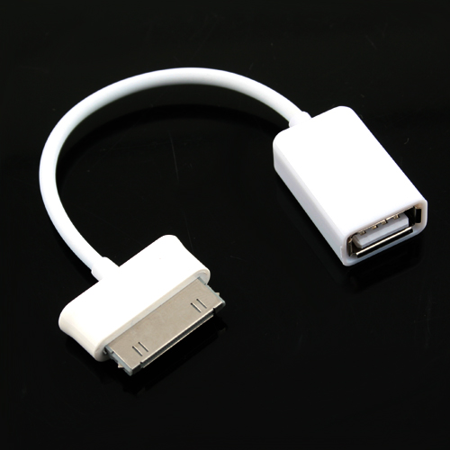 USB Host OTG Cable for Samsung Galaxy 10.1''/ 8.9''- White