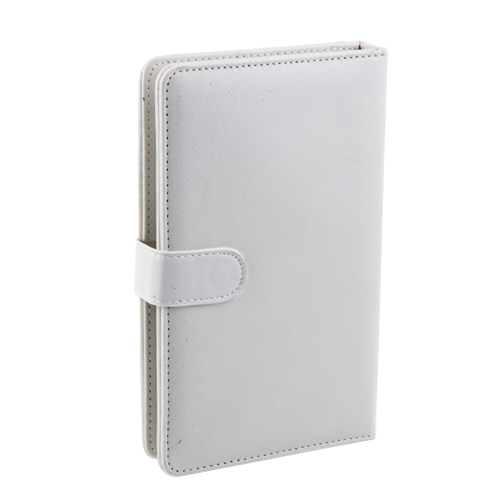 Protective Leather Case with Stand Keyboard for 7'' Tablet GPS- White