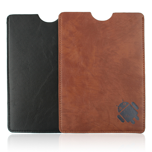 Google Android Robot Pattern Protective Leather Case for 9.7 Inch Tablet