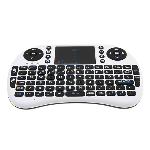 Rii Mini i8 2.4GHz Wireless Keyboard With Touchpad for MacBook/HTPC/Laptop/Android Tablet/PS3