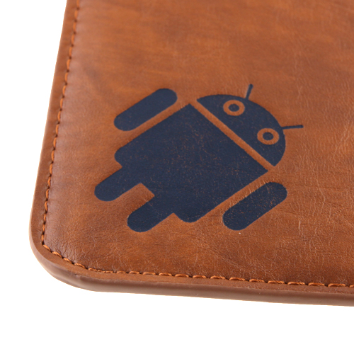 Google Android Robot Pattern Protective Leather Case for 10.1 Inch Tablet