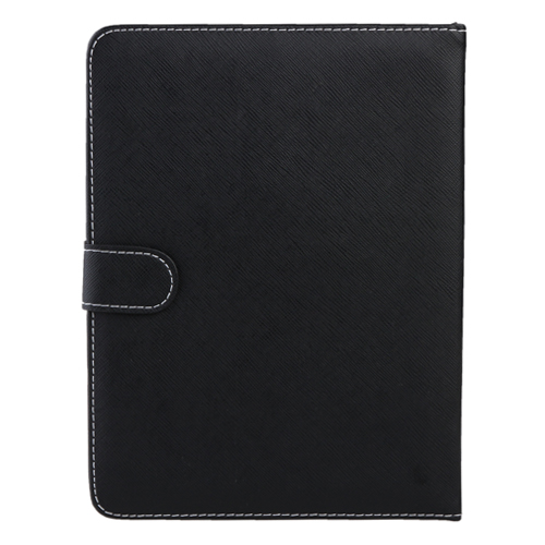 Leather Stand Case Micro USB Keyboard for 9.0 Inch Tablet PC Black