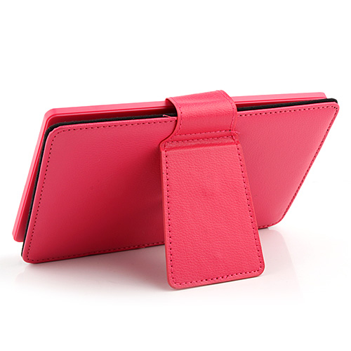 Brand New Colorful Leather Case with Keyboard for 7 inch Tablet PC Four-color Optional