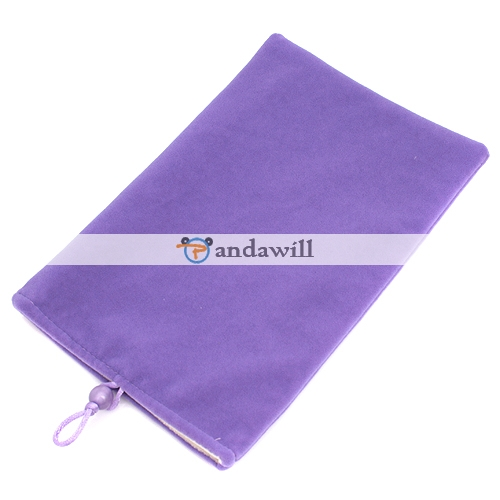 Purple Soft Cloth Case Bag for Panda Pad M001/M002 7 Inch MID GPS