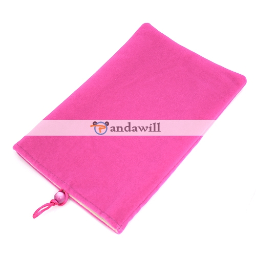 Pink Soft Cloth Case Bag for Panda Pad M001/M002 7 Inch MID GPS