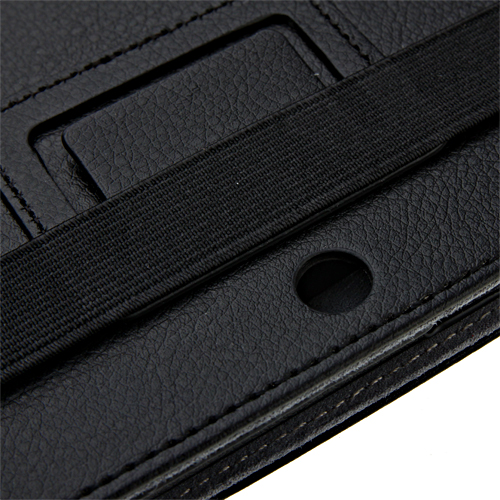 Protective Black Leather Case Stand Cover for Q88+ Yeahpad A13 Tablet PC