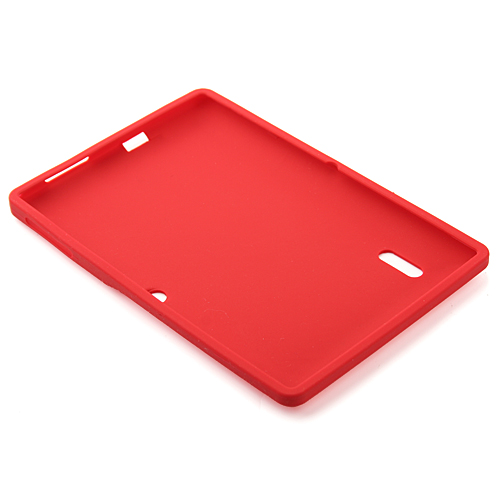 Multi-color Silicone Rubber Back Case for YeahPad A13 Tablet PC