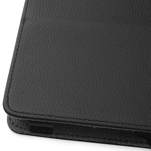 Protective Black Leather Case Stand Cover for Yeahpad A13 Tablet PC